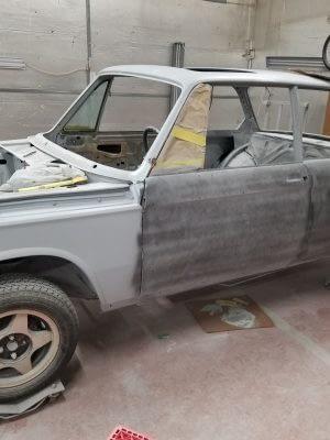 Build029 1976 BMW 2002 M10 Restoration 201