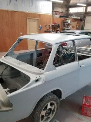 Build029 1976 BMW 2002 M10 Restoration 199