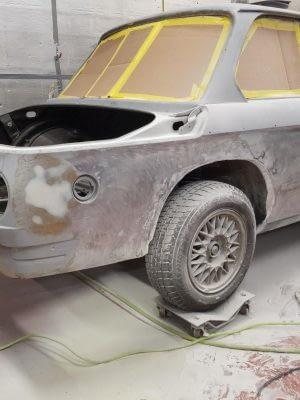 Build028 1970 BMW 2002 M42 Restoration 030