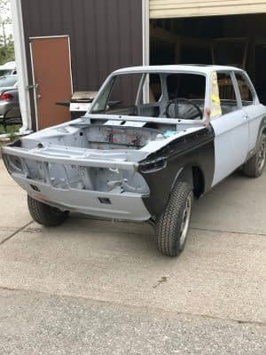 Build029 1976 BMW 2002 M10 Restoration 180